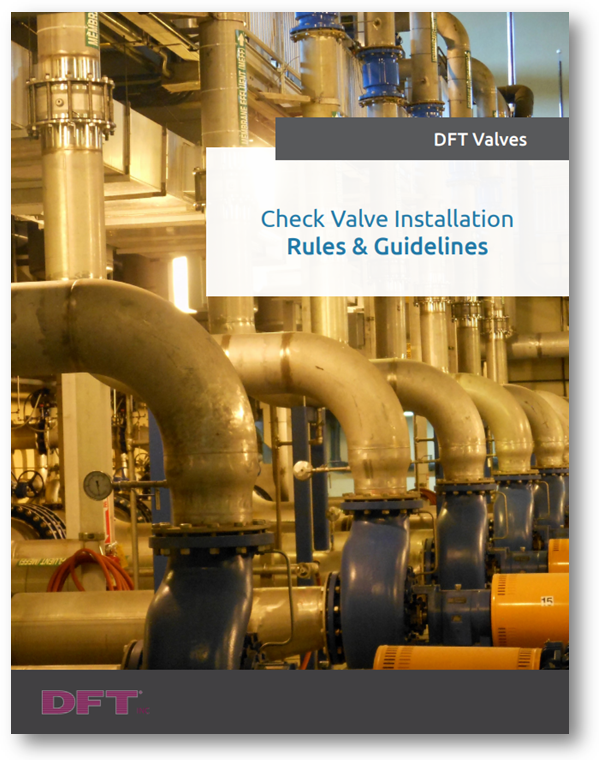 Check Valve Installation-Rules Cover