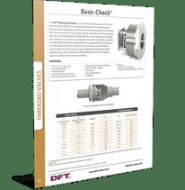 DFT-Basic-check valve