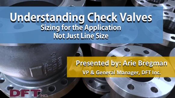 Understanding Check Valves Webinar