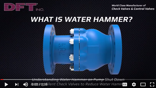 What is water hammer video